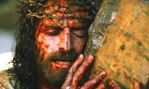 """""""If a man serves me, he must follow me, wherever I am, my servant will be there too."""" John 12:20-33 / Caviezel, Passion of Christ"""