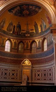 The Pope's Cathedral, St. John Lateran, Rome, Apse Mosaics