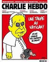 Charlie Hebdo Image of Pope