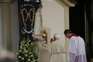 Pope Benedict XVI visits Fatima, May 2010.