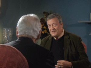 Stephen Fry tells Gay Byrne what he thinks of God!
